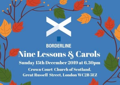 Borderline's Christmas Carol Reception